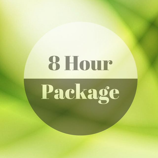 8 Hour Package